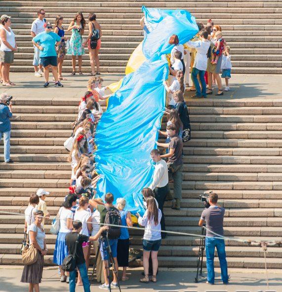 В Одессе прошёл «Вышиванковый фестиваль»