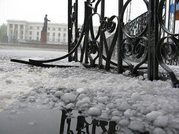 Болградский район понёс миллионные убытки из-за града