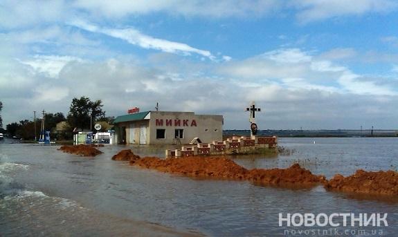 Наводнение добралось до Татарбунарского района