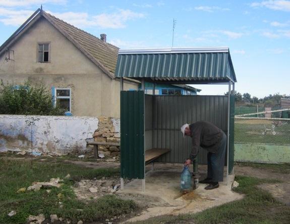 В Арцизском районе восстановили сельский родник (ФОТО)