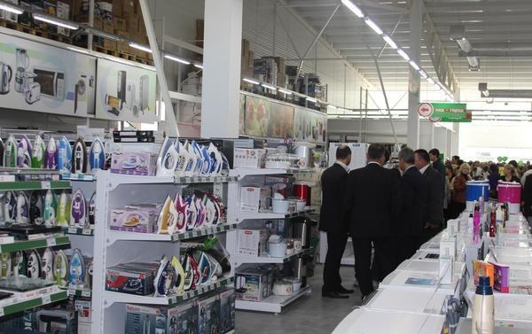 Открытие строительного торгового центра в Белгород-Днестровском