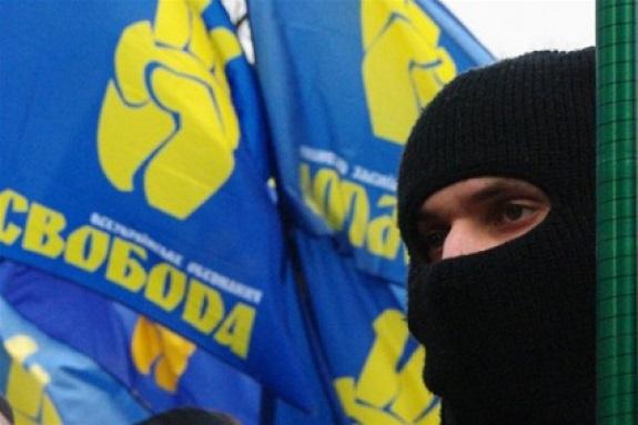 «Свобода» призывает наказывать одесситов за внешнеполитические взгляды