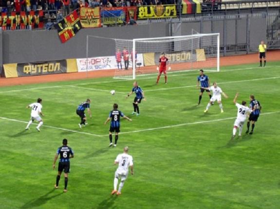 «Черноморец» на выезде выиграл у «Металлурга»