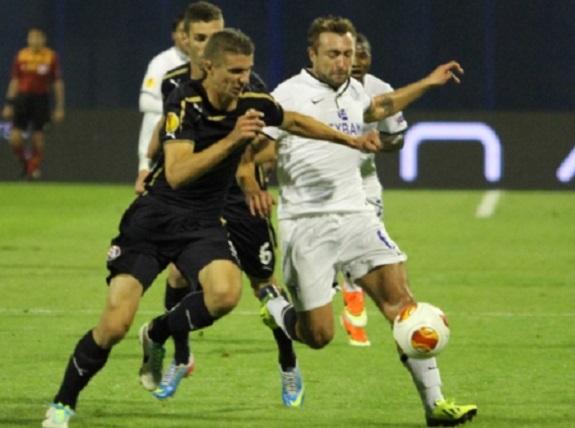 Одесский «Черноморец» выиграл у хорватского «Динамо» в матче Лиги Европы