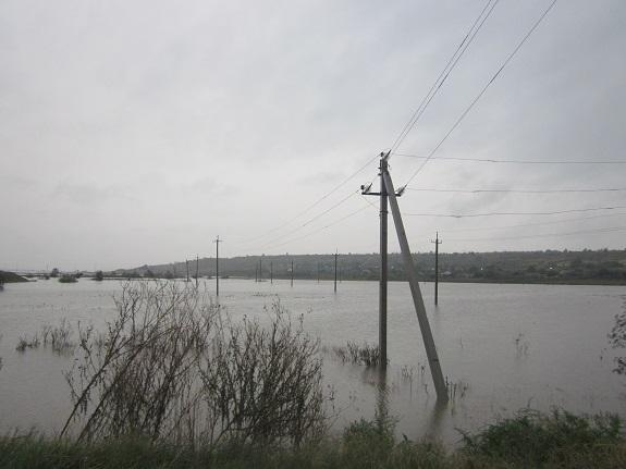 Арцизский район охватила небывалая непогода (ФОТО)