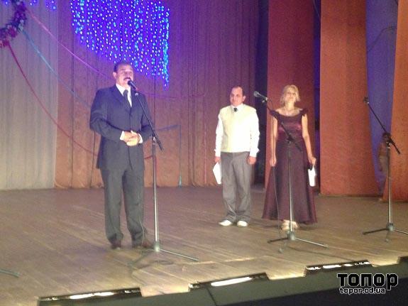 Антон Киссе принял участие в празднике села Жовтневое