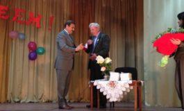 Антон Киссе поздравил с юбилеем писателя из Саратского района (ФОТО)