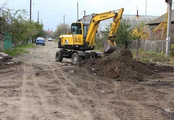 В Белгороде-Днестровском ремонтируют одну из самых проблемных улиц
