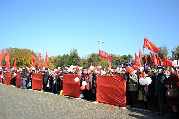 В Одессе собирали подписи за вступление в Таможенный Союз