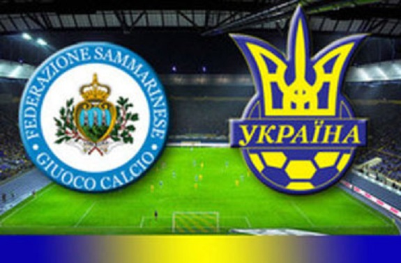 Сборная Украины по футболу разгромила на выезде сборную Сан-Марино