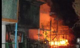В Затоке сгорело пять коттеджных домов