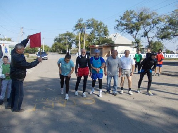 В Измаильском районе прошла юбилейная легкоатлетическая эстафета