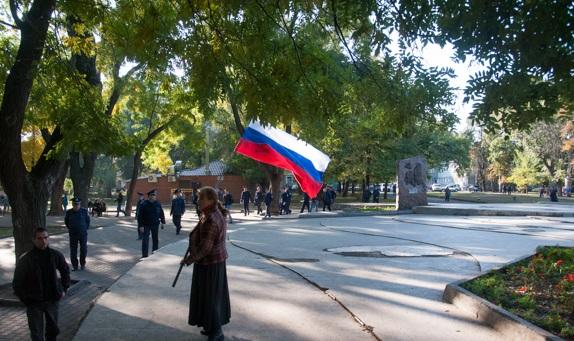 В Одессе националисты отметили создание ОУН-УПА пробежкой