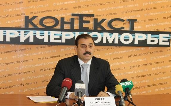 Антон Киссе просит профинансировать программу «Питьевая вода» в Бессарабии