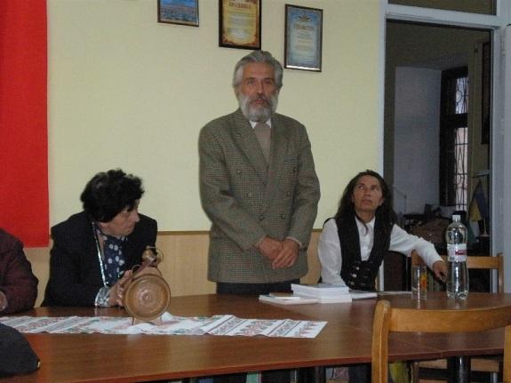 Болгарский писатель презентовал свои книги в Белгород-Днестровском (ФОТО)