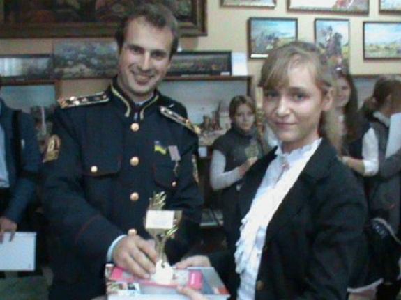 Ученица Саратского района победила на областной конференции «Казацкими путями»