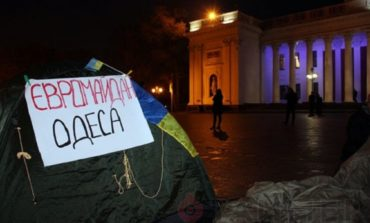 Евромайдан в Одессе разогнан