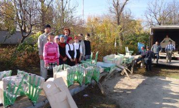 Воскресной школе Болградского района подарили парты (ФОТО)
