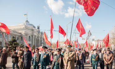 В Одессе коммунисты устроили митинг ко Дню Октябрьской революции (ФОТО)