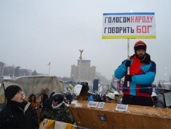 В Киеве убили двое протестующих