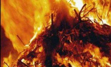В Арцизском районе пожар уничтожил 170 тонн сена