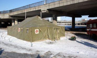 В Бессарабии открыли палаточные пункты обогрева
