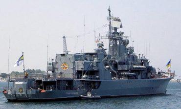 Фрегат «Гетман Сагайдачный» остался верен Киеву и прибыл в Одессу