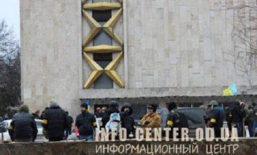 Вооружённые битами сторонники «Правого сектора» прошлись по центральным улицам Одессы