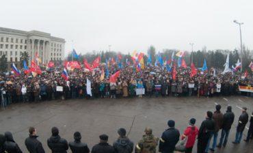 В Одессе состоялся очередной митинг против Майдана (ФОТО)