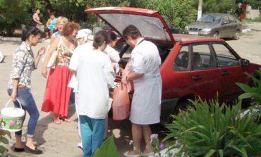 Болградская районная больница получила материалы для ремонта детского отделения (ФОТО)