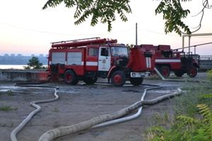 Сгорел санаторий, где проживали военные из Крыма (ФОТО)