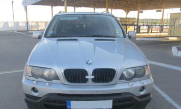 Белгород-днестровские пограничники забрали у молдаванина машину марки «BMW»