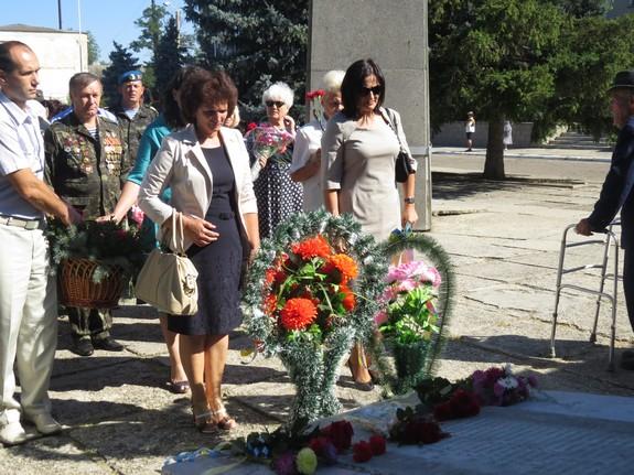 В Болграде отпраздновали 70-ю годовщину освобождения от немецко-фашистских захватчиков (ФОТО)