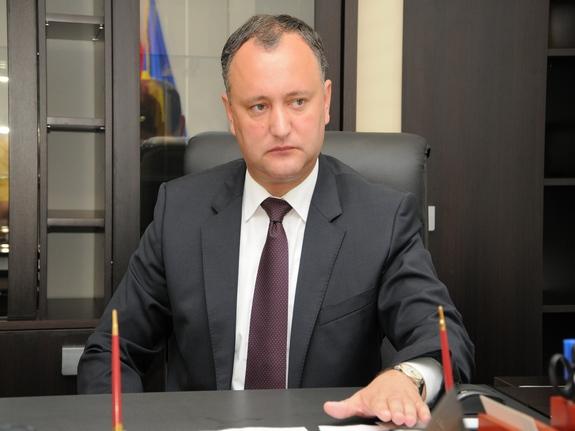 Конституционный суд Молдовы предлагает уголовное наказание для президента страны