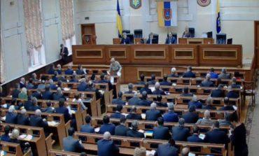 Шмушковича так и не избрали главой облсовета