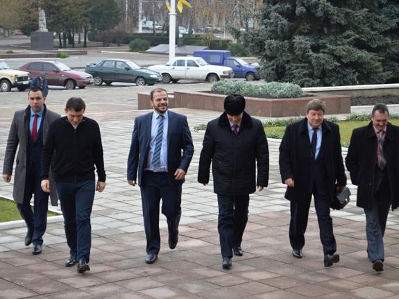 Измаил с рабочим визитом посетил зампред Одесского облсовета (ФОТО)