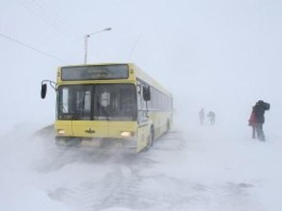В Одесской области на время непогоды закрыли автовокзалы