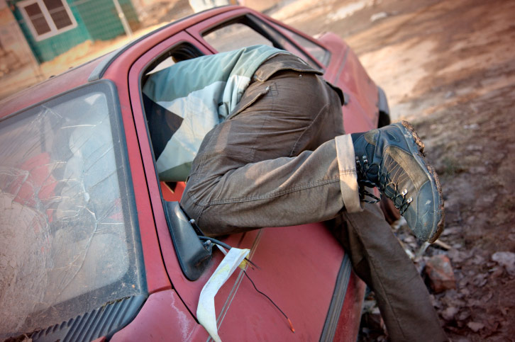 У Голій Пристані на ринку працює автокрадій