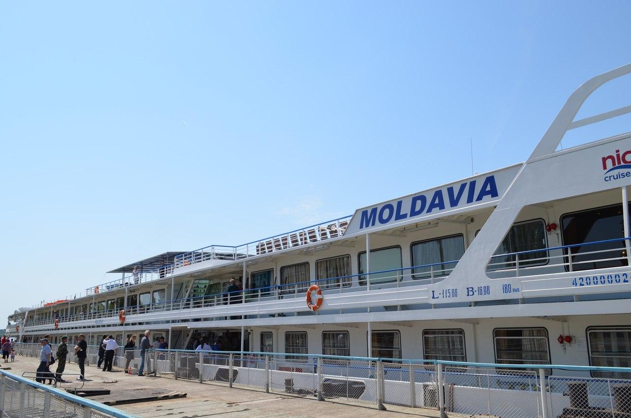 теплоход Молдавия