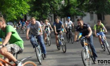 В Белгороде-Днестровском прошёл патриотический велопробег (ФОТО)