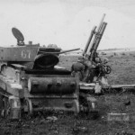 2. Брошенный танк БТ-5