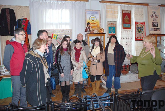 Гости побывали в историко-этнографическом музее
