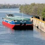 основной тип баржи на украинских реках