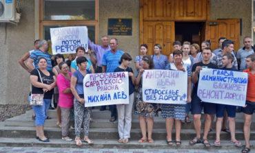 Жители села Староселье требуют отремонтировать дороги