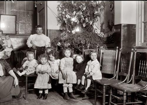 Новый год в начале 20 века в Нью-Йорке