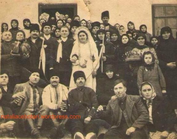 Свадьба Михайлова Петра Георгиевича и Икизли Ольги Мариновны. Комрат, 1950г.
