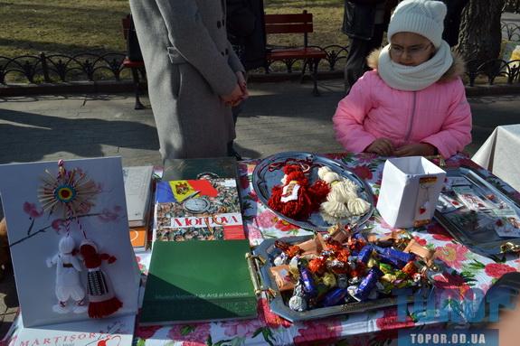 Болгары, румыны и молдаване встретили весну на Дерибасовской