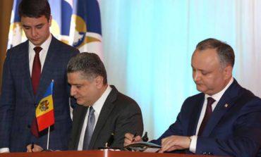 Молдова подписала соглашение о сотрудничестве с комиссией ЕврАзЭС