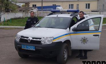 В Болграде обновляется полицейский автопарк