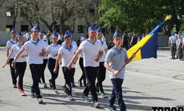 В Болграде соревновались юные патриоты